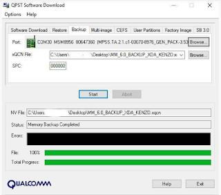 Backup IMEI Redmi Note 3 Pro