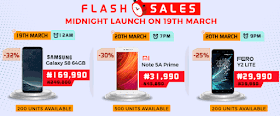 Jumia mobile week flash sales