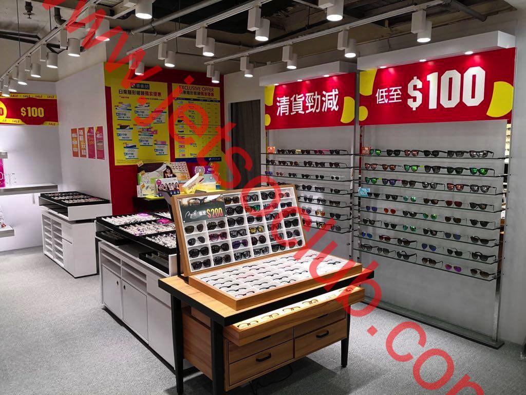 眼鏡88:Outlet特賣場@太子 太陽眼鏡/鏡架 低至$100 ( Jetso Club 著數俱樂部 )