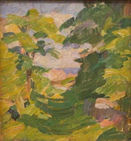 Art Talk - foredrag om kunst. Edvard Weie: Mindet, Christiansø (1912)