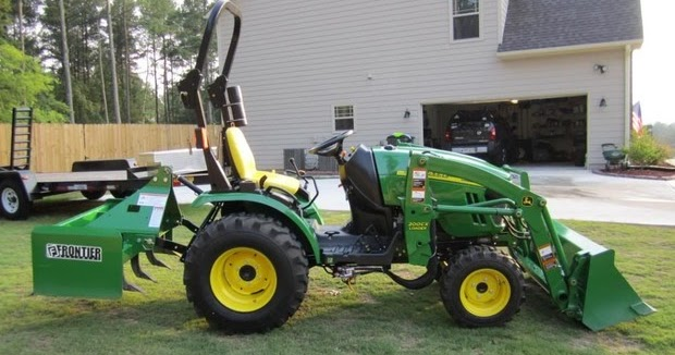 John Deere 2320 Compact Utility Tractor Test And