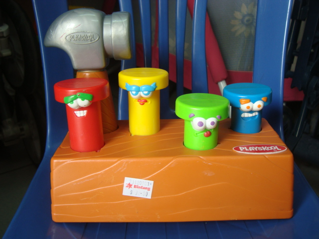 Astonishing Preloved Toysworld Thetottoys Playskool Pounding Pop Up Creativecarmelina Interior Chair Design Creativecarmelinacom