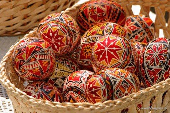Oeufs de pâques en Roumanie
