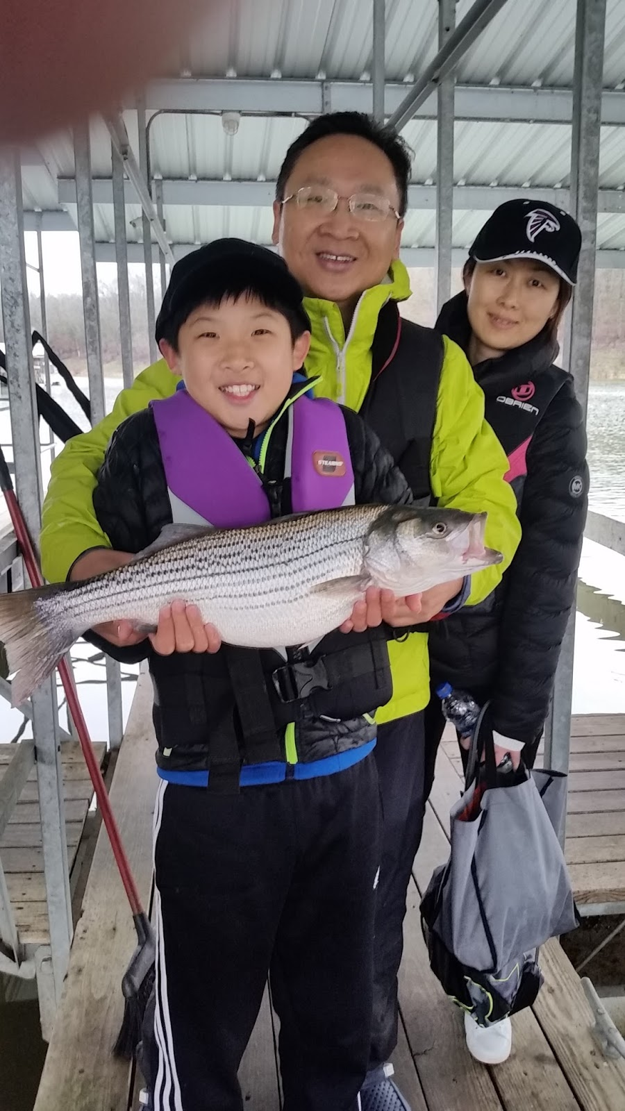 Norfork Lake Fishing Report by Lou of Hummingbird Hideaway