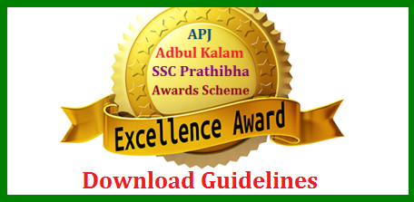 "APJ Abdul Kalam Prathibha Puraskar Awards to SSC Public Exams Meritorious Students-Guidelines Issed Prathibha Awards Scheme to 10th Class Public Examinations Meritorious Students Guidelines Education Department – ""Dr. A.P.J.AbdulKalam Prathibha Puraskar Award"" - Scheme for promoting Quality and Excellence in Education – Revised guidelines – Issued. Guidelines and Selection Method for APJ Abdul Kalam Prathibha Puraskar Awards by the School Education Dept of Andhra pradesh apj-abdul-kalam-prathibha-puraskar-awards-scheme-guidelines-ssc-public-exams-meritorious-students"