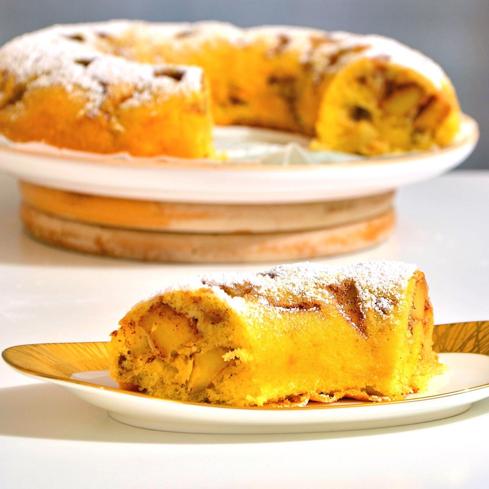Apple Cinnamon Savarin: The French Bundt Cake