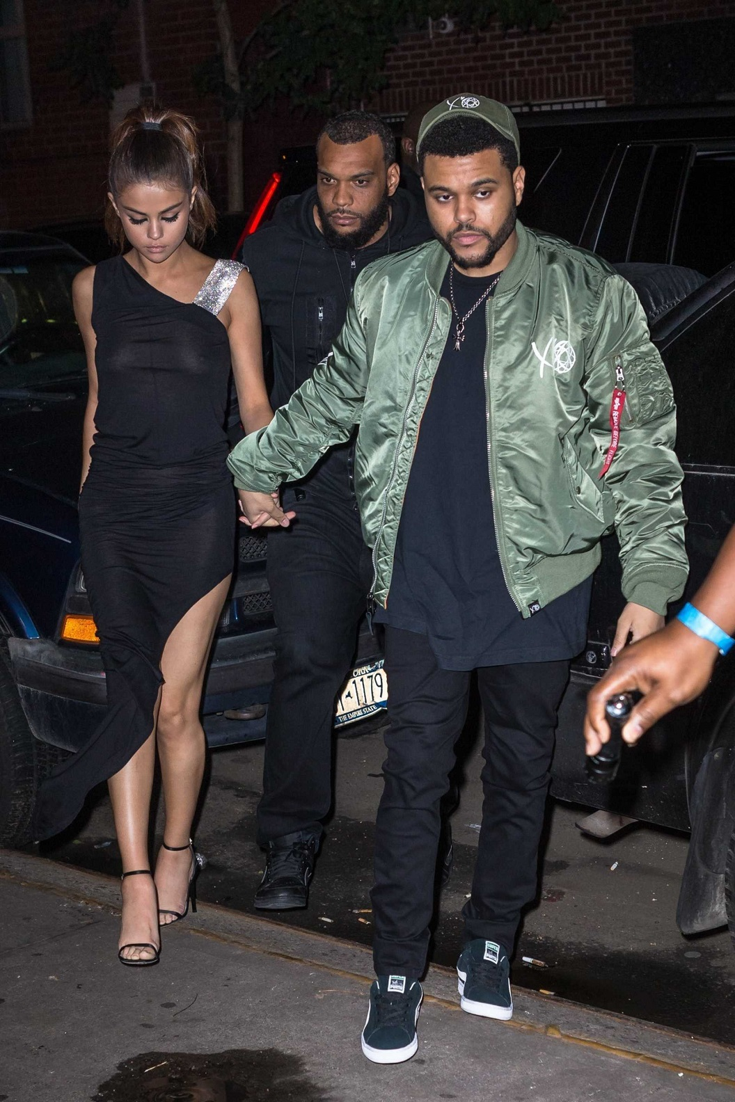 Selena Gomez goes braless for dinner date with The Weeknd