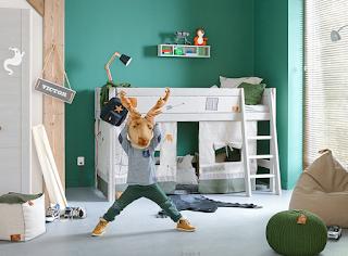 Kinderkamer Met Mosgroen : Kidsgigant.nl: kinderkamer trends 2018