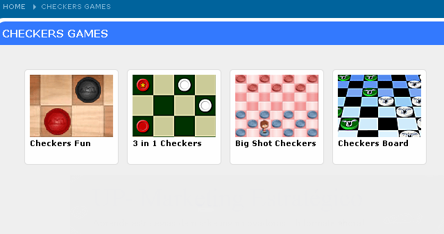 Games Checkers