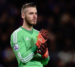 model rambut david de gea