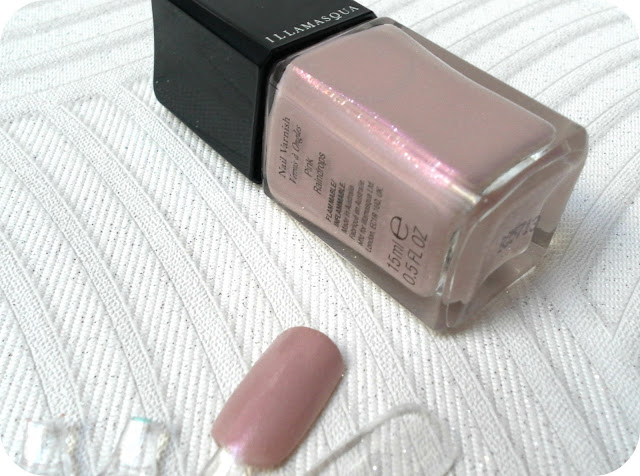 A picture of Illamasqua Pink Raindrops polish