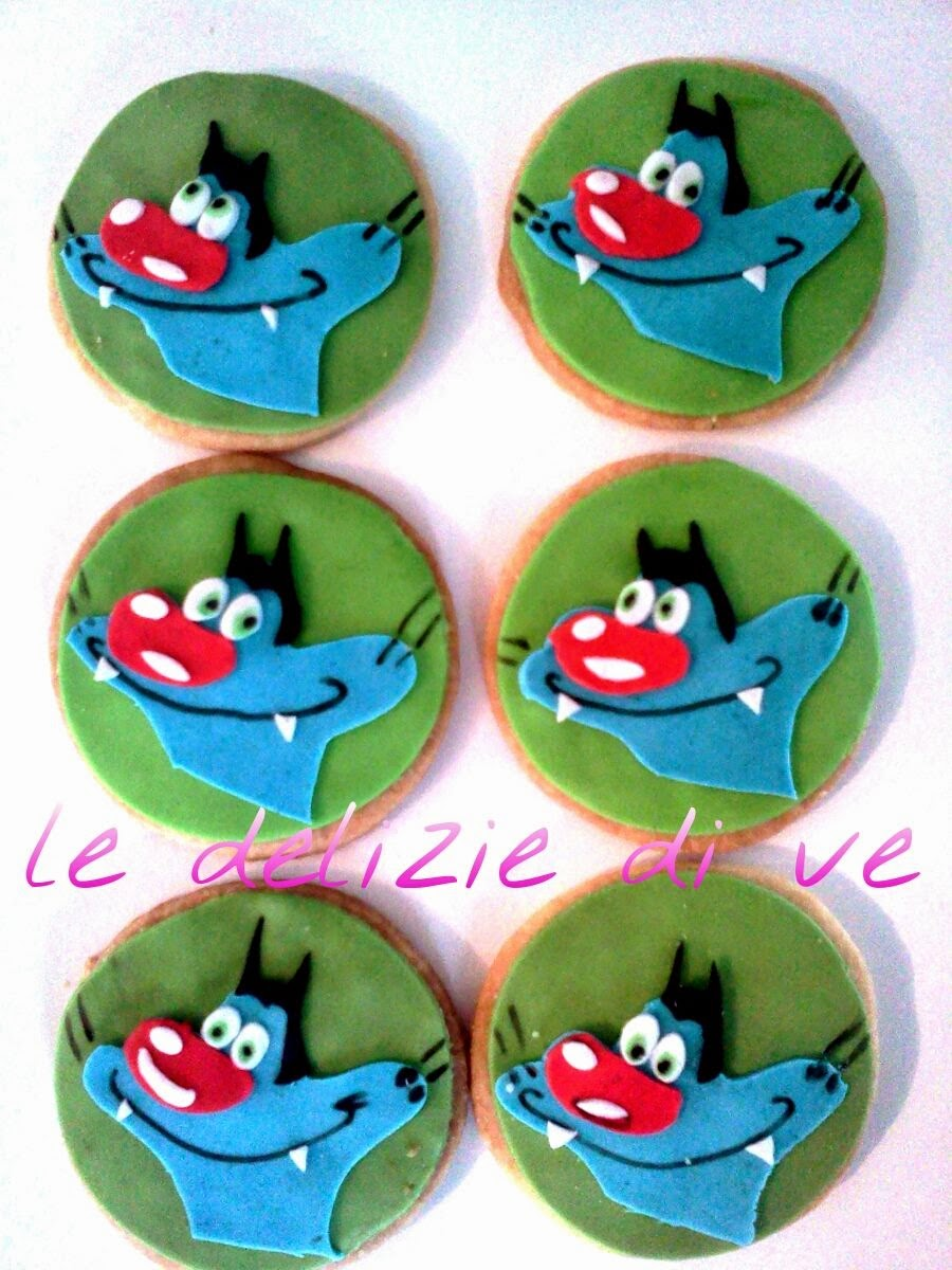 Popolare Le Delizie di Ve: OGGY AND THE COCKROACHES COOKIES EJ13