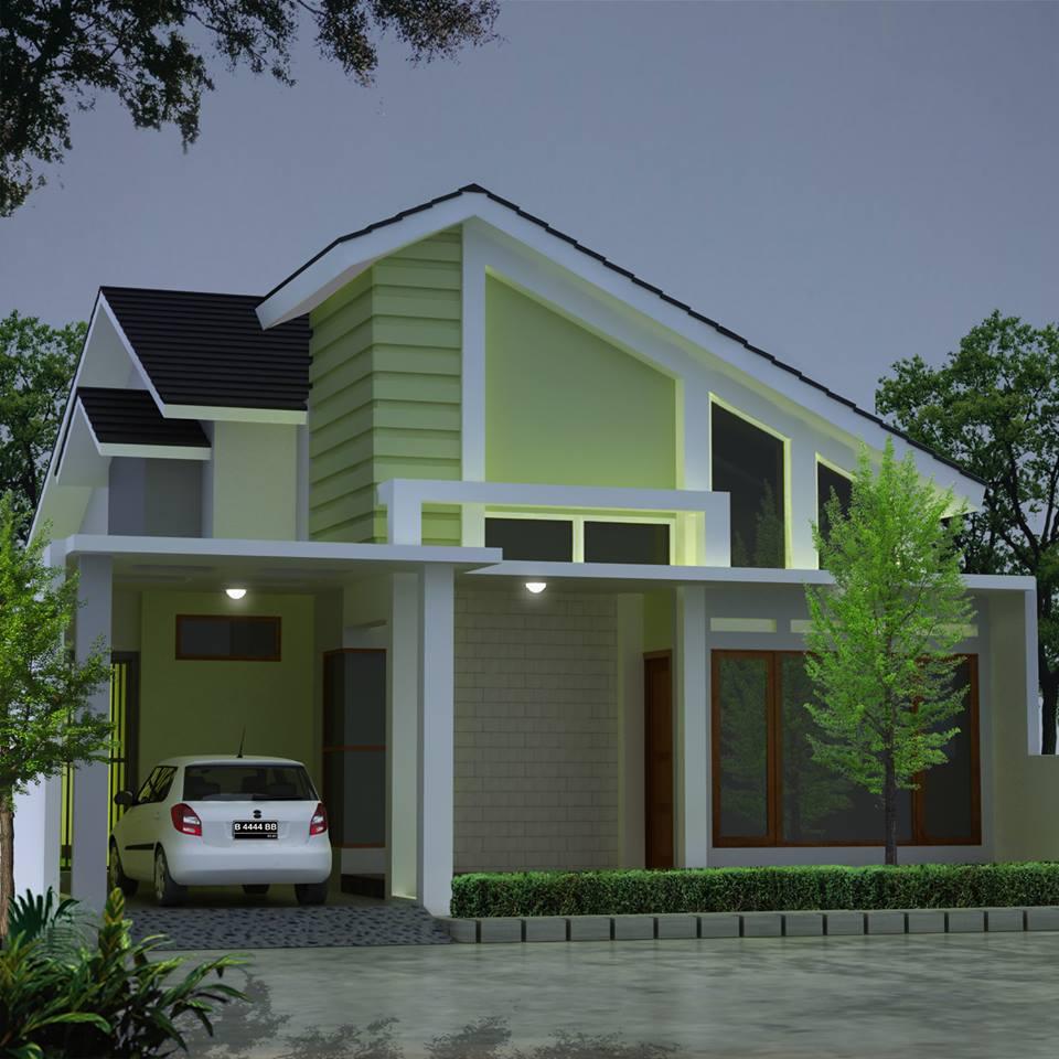 10 Desain Rumah Sederhana Dengan Budget Sederhana Desain