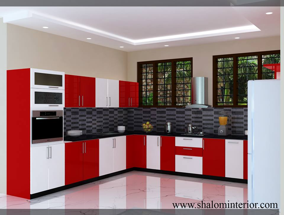 Pvc Modular Kitchen Design