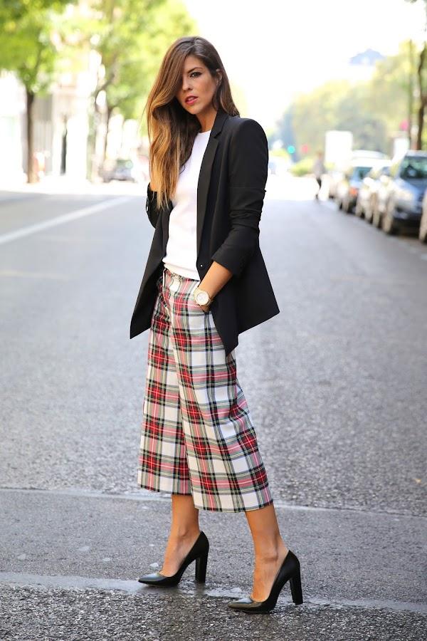 DIY Patrones pantalon culotte midi palazo pantalon-falda tutorial ropa mujer