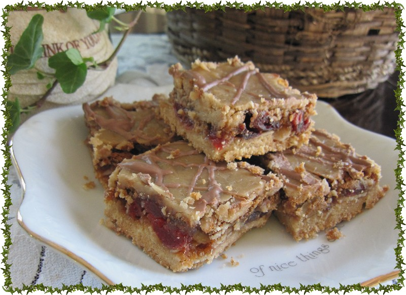 Mennonite Girls Can Cook Cherry Berry Squares Gluten Free