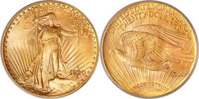 Saint-Gaudens Gold Double Eagle