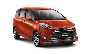 Gambar Toyota Sienta Bandung