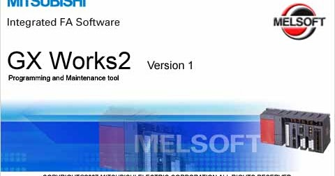 GX WORKS MITSUBISHI MEGA NZ ~ PLC SOFTWARE