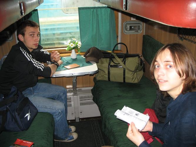 Поезд в Эстонию
