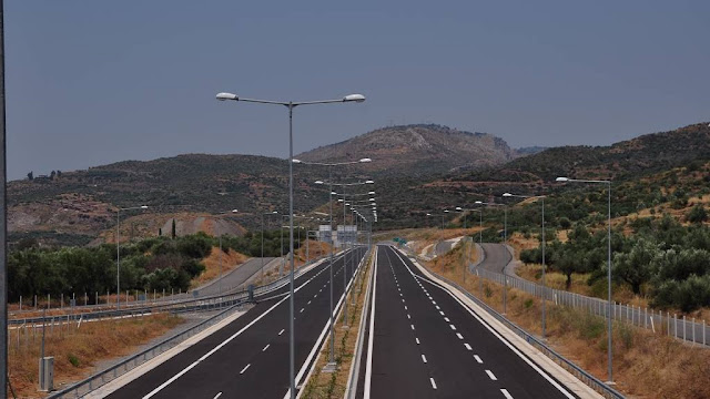 Κυκλοφοριακές ρυθμίσεις στον αυτοκινητόδρομο Κόρινθος – Τρίπολη – Καλαμάτα και κλάδο Λεύκτρο – Σπάρτη