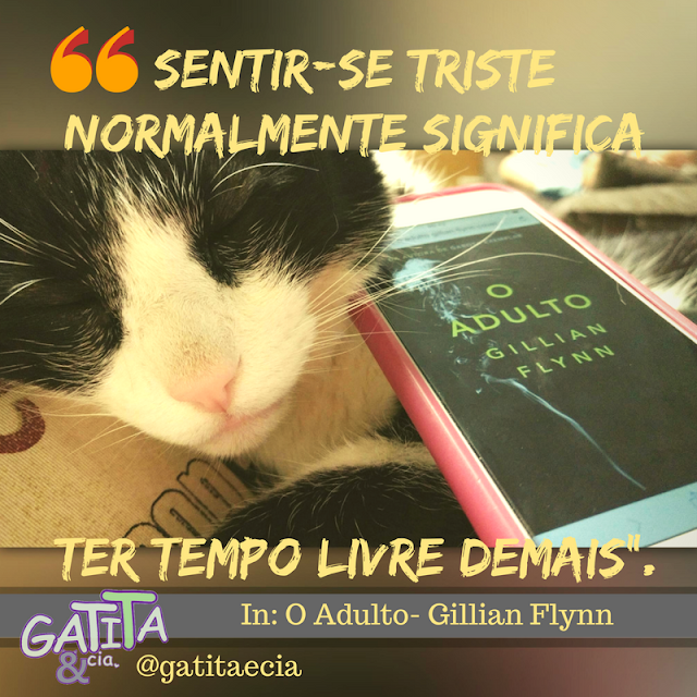 O Adulto - gato - capa - quote