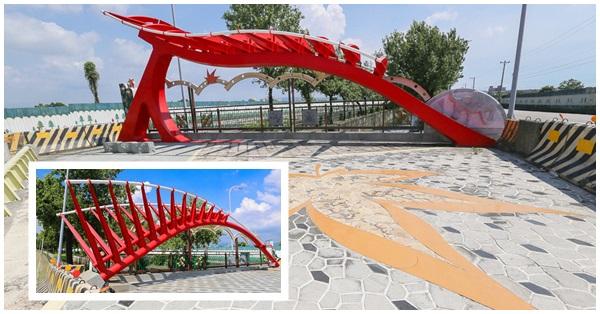 台中南屯|結合地方特色的景觀橋:人本橋和楓林橋