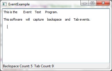 Qt Tab Example
