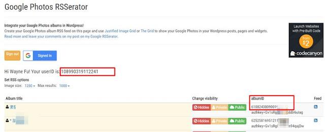 google-photo-rss-generator-其實 Google 相簿依然是 Picasa,你可能不太相信