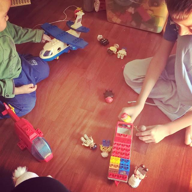 bambini pazienza e creatività con i lego