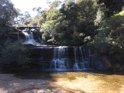 Cascada Wentworth. Blue Mountains. Sydney