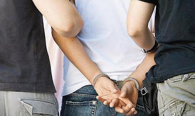 Σύλληψη για κλοπή στην Κατερίνη.