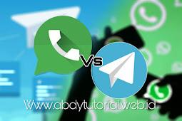 Mana yang lebih unggul.? Telegram atau Whatsapp | kalo kamu pilih mana.