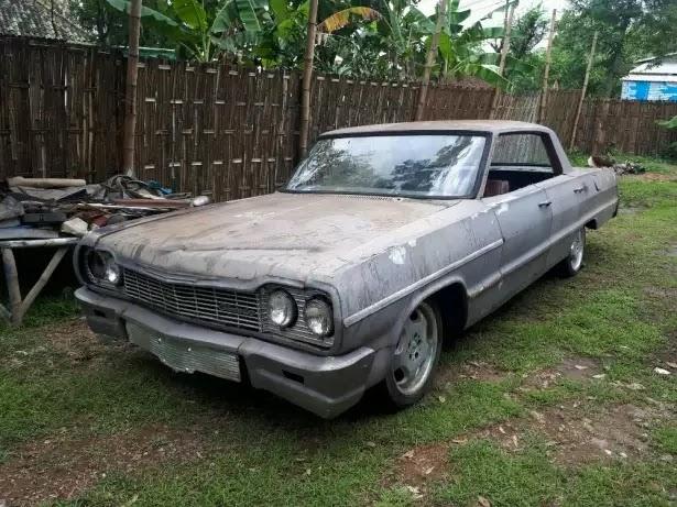 Jual Bahan Chevrolet Impala Tahun 1964, Mesin Sehat