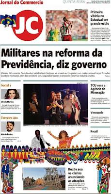TV Praver  Principais notícias de alguns jornais brasileiros, nesta ... 978d501ce1