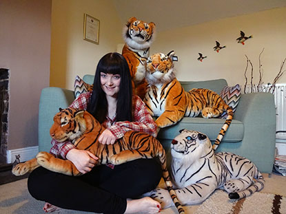 Hannah Bolam is fundraising for Cats Protection