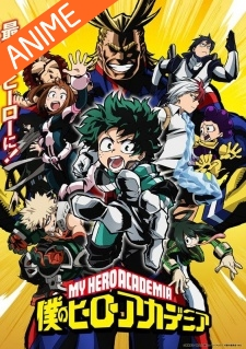 Anime: Boku no Hero Academia – Assistir Online
