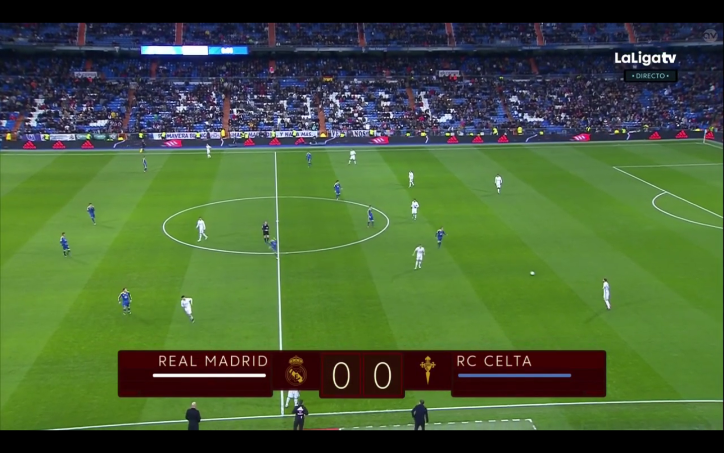 Real madrid tv real madrid 1 2 celta for Real madrid tv