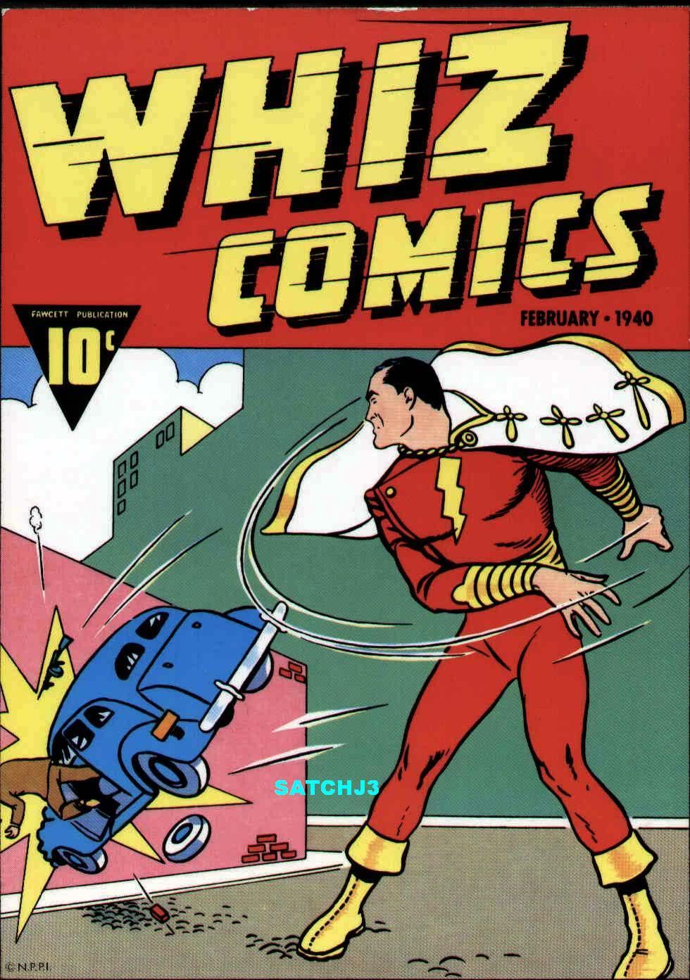 the archetypal archive  mythcomics  whiz comics  2
