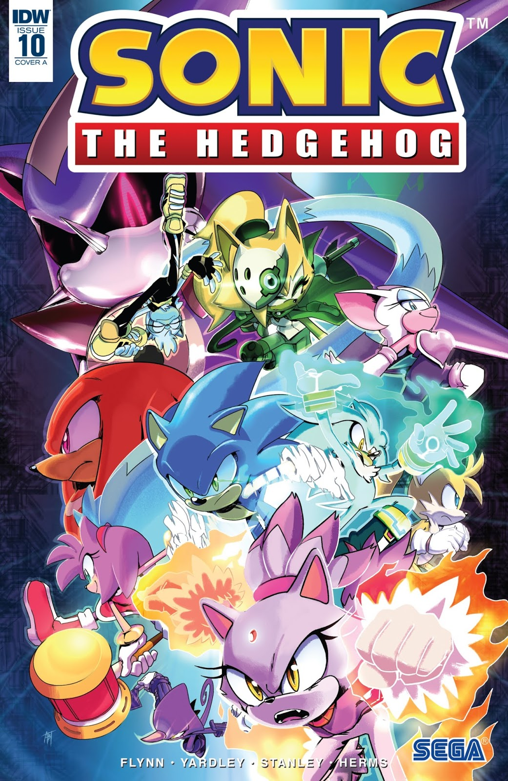 Hedgehogs Can T Swim Sonic The Hedgehog Idw Issue 10