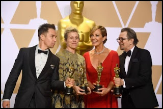 Premios Óscar 2018: Sam Rockwell, Frances McDormand, Allison Janney y Gary Oldman