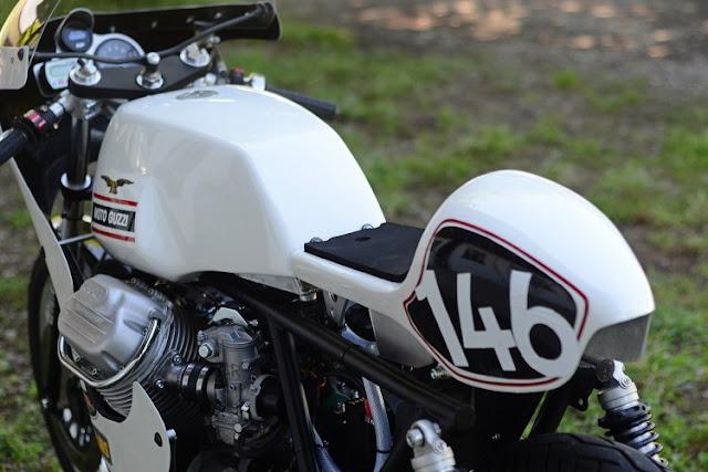 Moto Guzzi V7 Sport by 46Works Hell Kustom