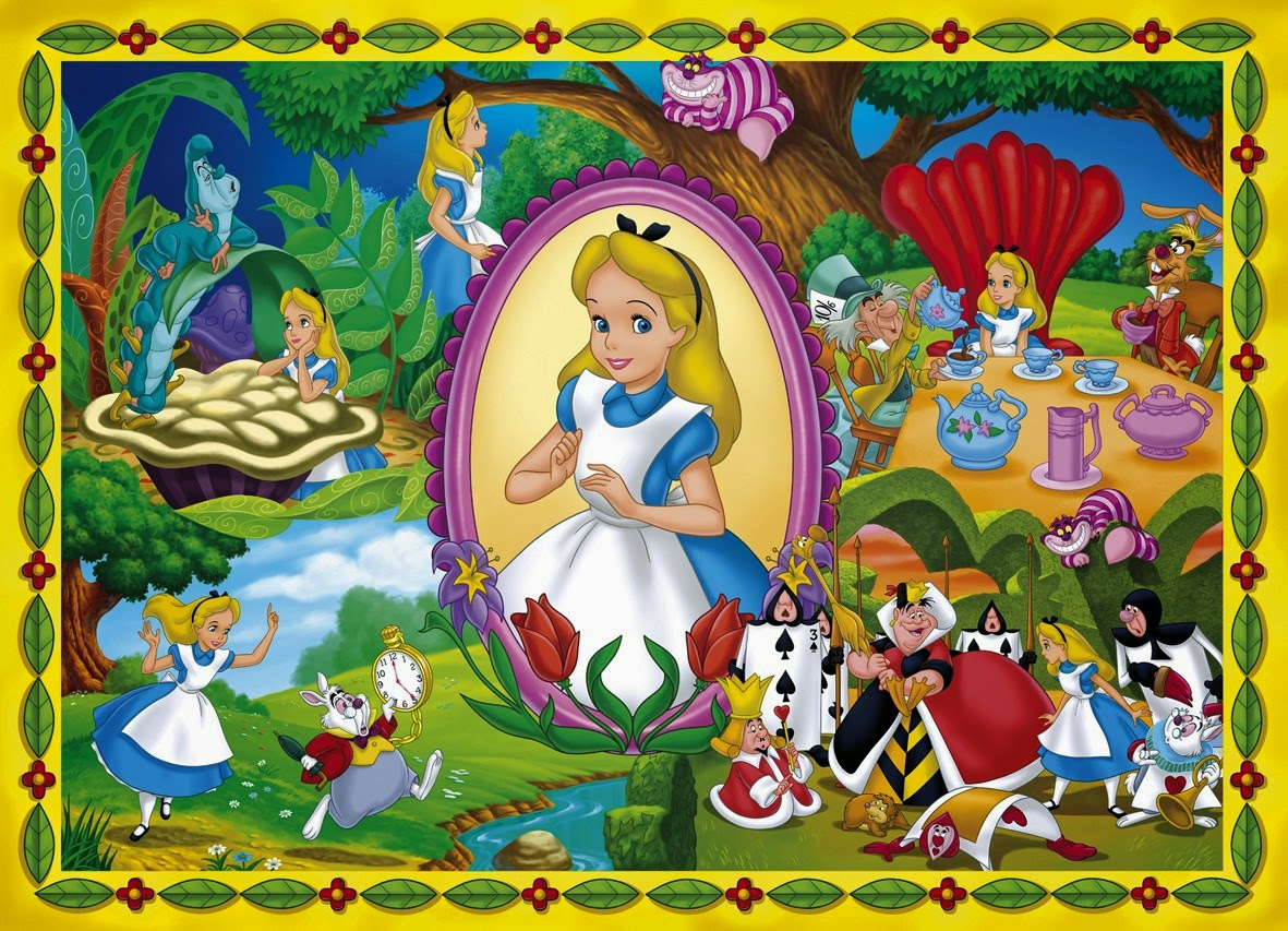 The disney archives and mysteries april 2011 - Alice in wonderland cartoon pictures ...