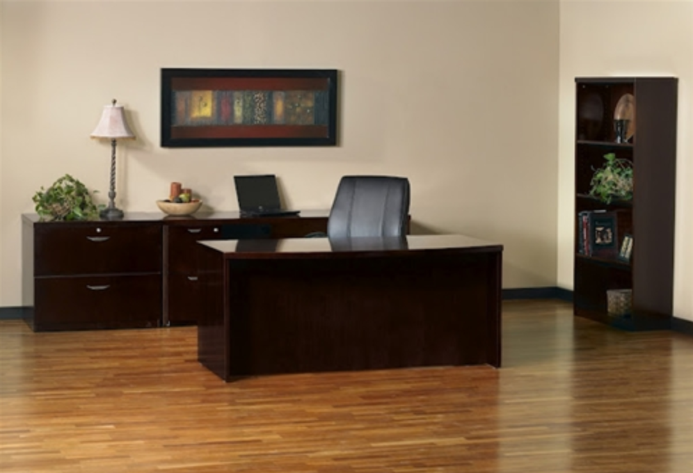 Mayline Mira Series Executive Office Furniture Suite