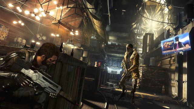 Os traemos la comparación gráfica de Deus EX: Mankind Divided (PC-ONE-PS4)