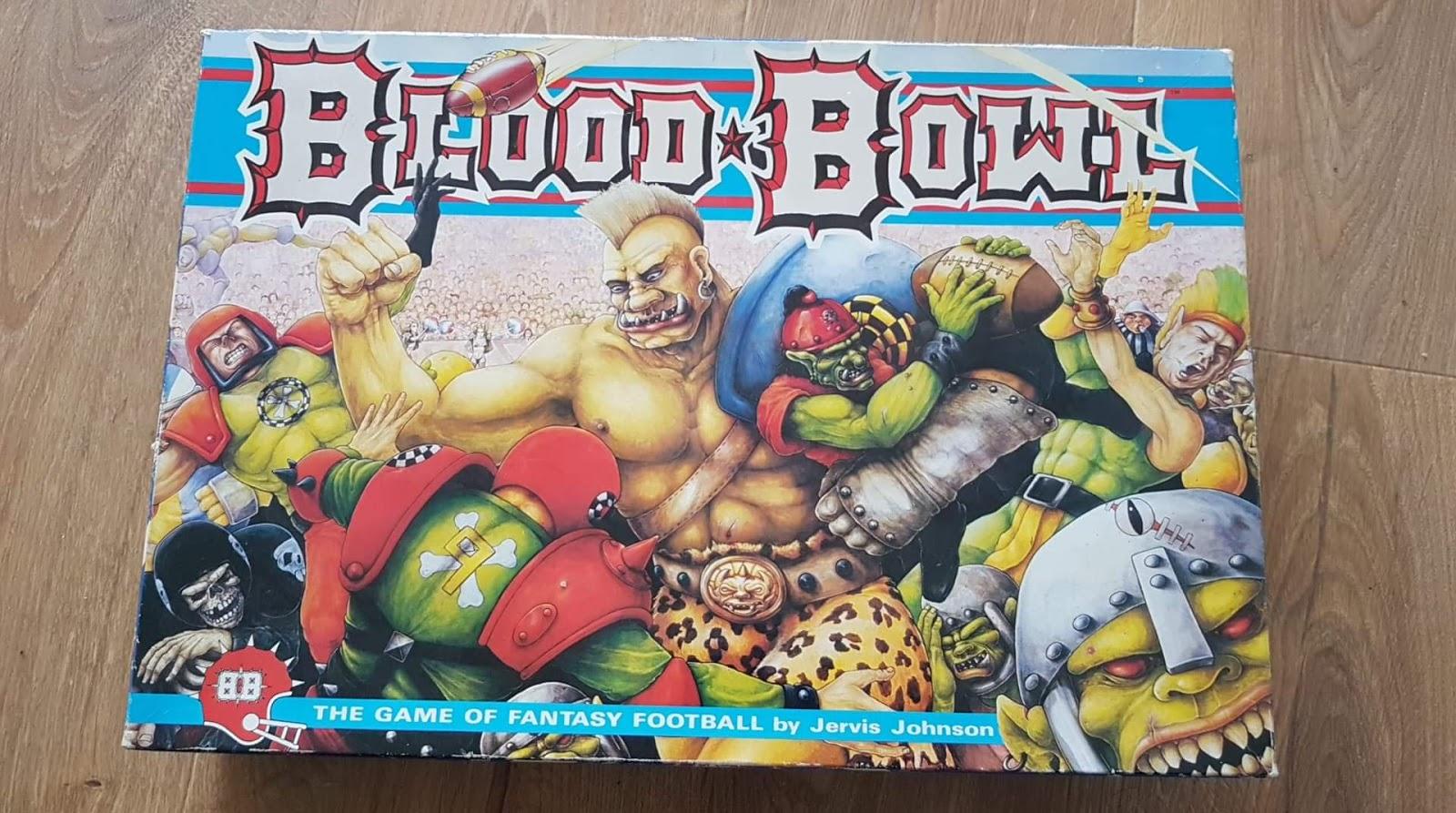 Games Workshop Citadel OOP Blood Bowl 2nd Edition 1988 Skaven Lineman #2