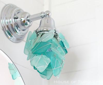 Wire Wrap Beach Sea Glass - Coastal Decor Ideas and ...