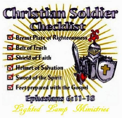 Lighted Lamp Ministries Ephesians 6 Verse 14 The Gospel Armor