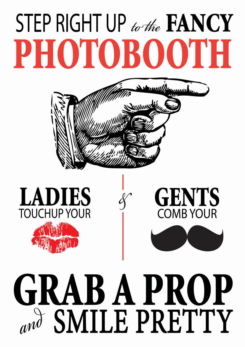 Photobooth Poster Design Portfolio