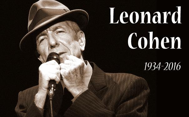 Leonard Cohen anciano